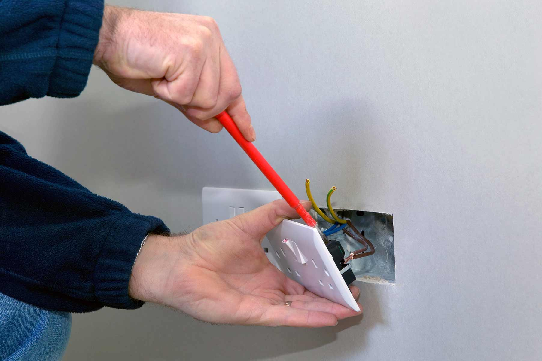 Our electricians can install plug sockets for domestic and commercial proeprties in Camberwell and the local area.
